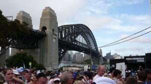 die sydney harbour bridge